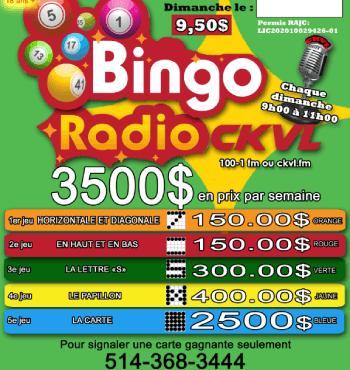 CKVL Bingo